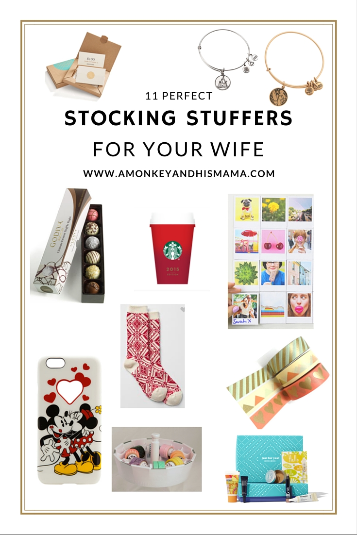 Stocking Stuffer Ideas For Your Wife A Monkey And His Mama