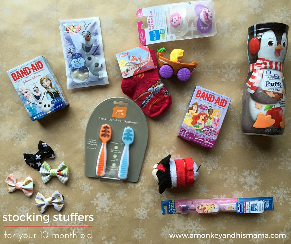 Stocking Stuffers For Tiny Humans A Monkey And His Mama