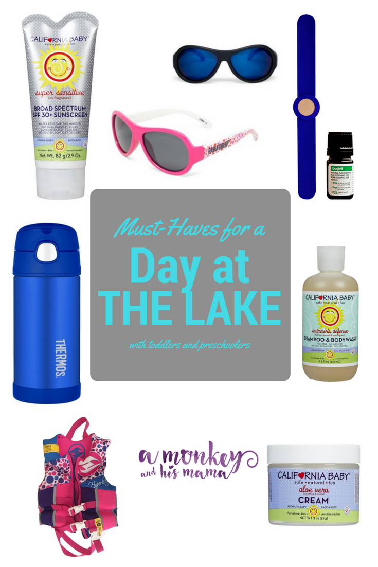 Must-Haves for a Day at the Lake.