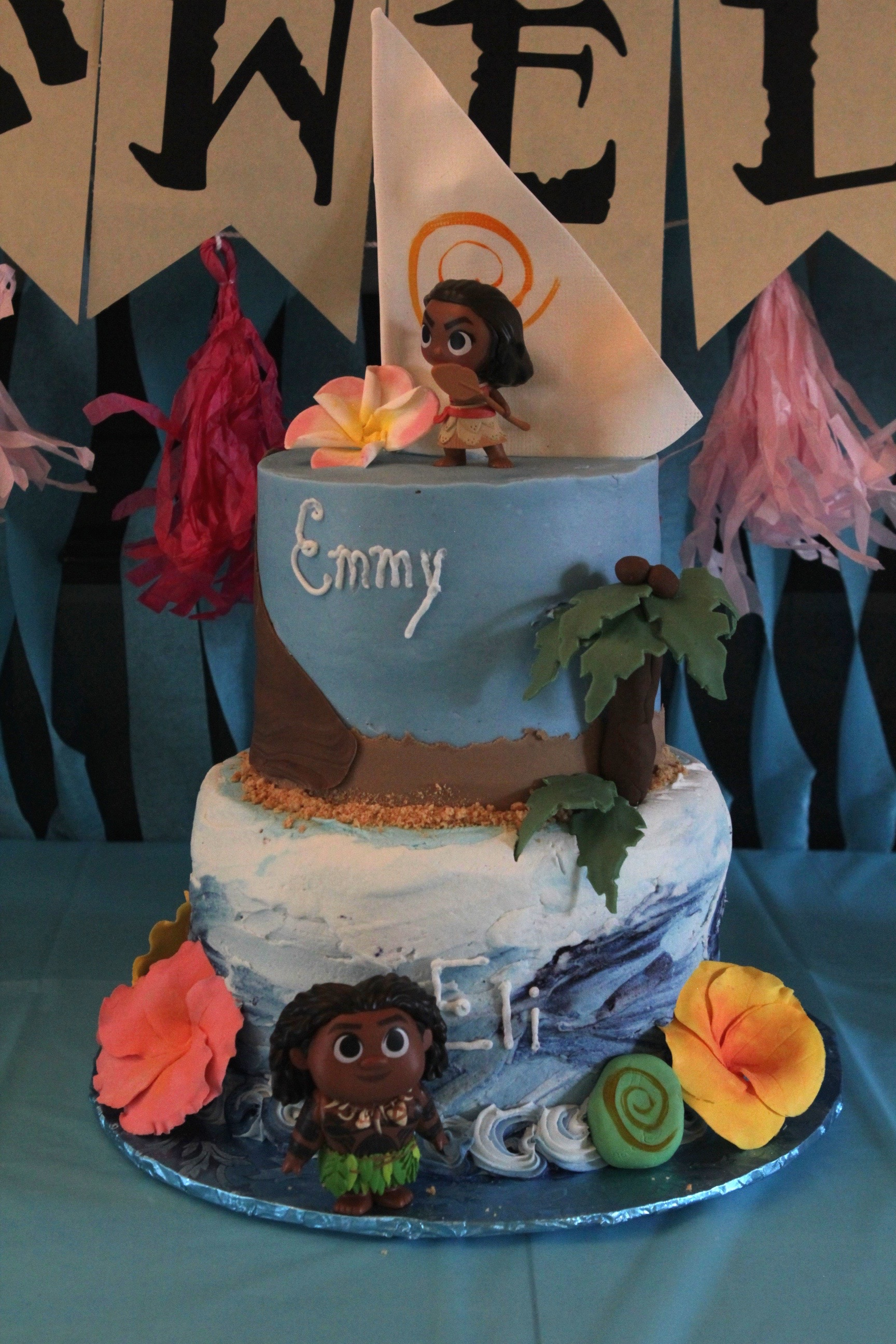 A Moana Inspired Birthday Party A Monkey And His Mama